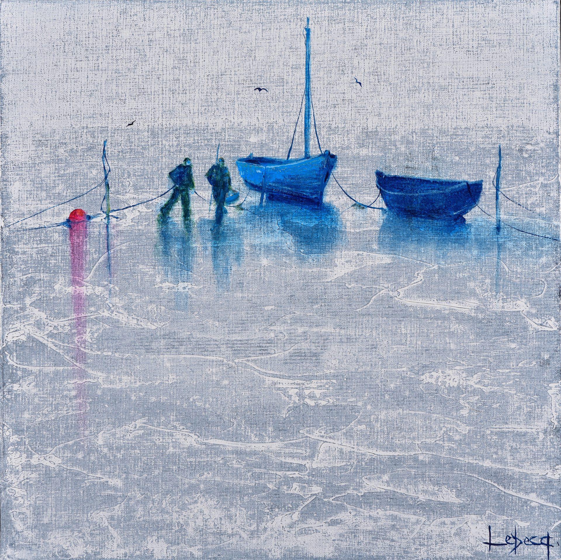 Denis Lebecq artiste peintre pontaven gris